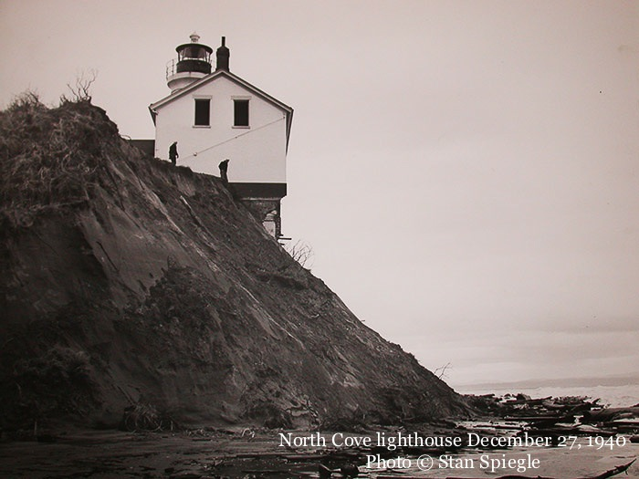 North Cove Lighthouse by Stan Spiegel